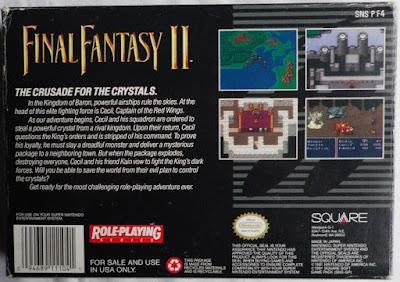 Final Fantasy IV - Caja detrás