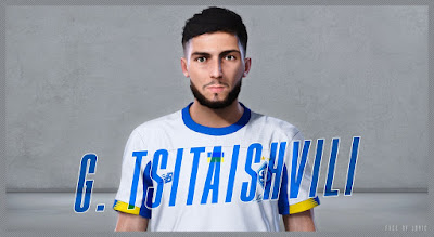 PES 2020 Faces Georgiy Tsitaishvili by Jovic