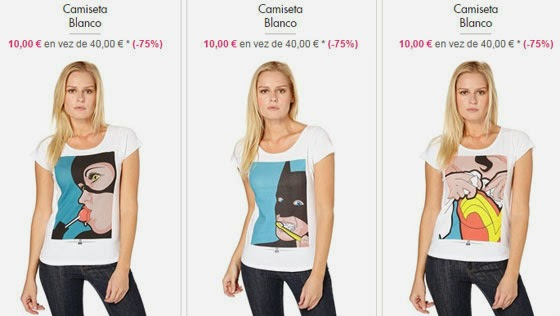 Camisetas mujer 10 euros
