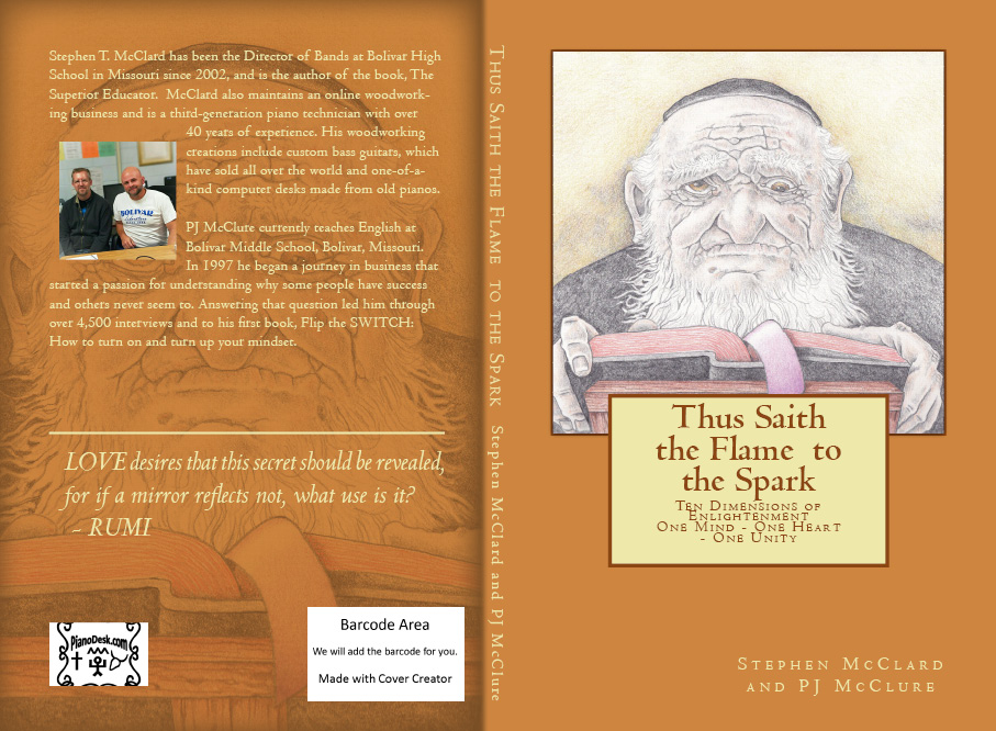 New Book - Thus Saith the Flame to the Spark-Ten Dimensions of Enlightenment