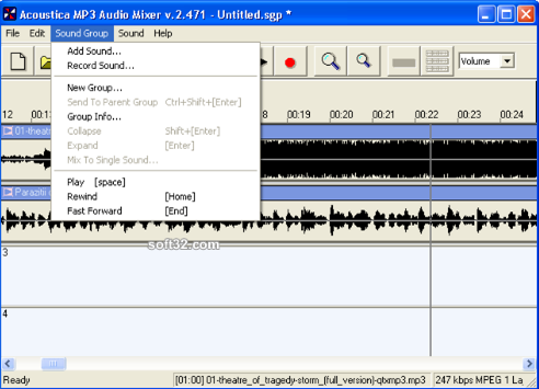 Acoustica Free MP3 Audio Mixer Download - Free Download ...