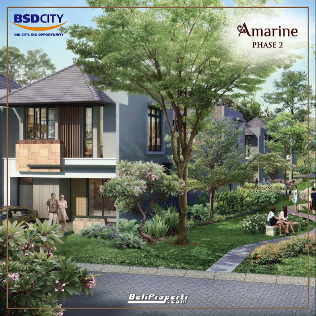 cluster amarine at the mozia bsd city