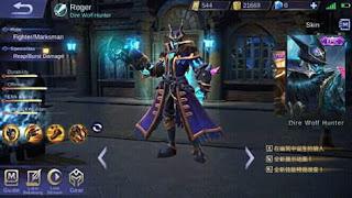 download script skin mobile legend roger epic