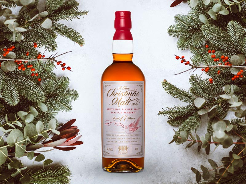 1f06ffbfd26 This whisky is a special Christmas release from leading spirits retailer The  Whisky Exchange. It is their first ever Christmas Malt and is a 17 years old  ...
