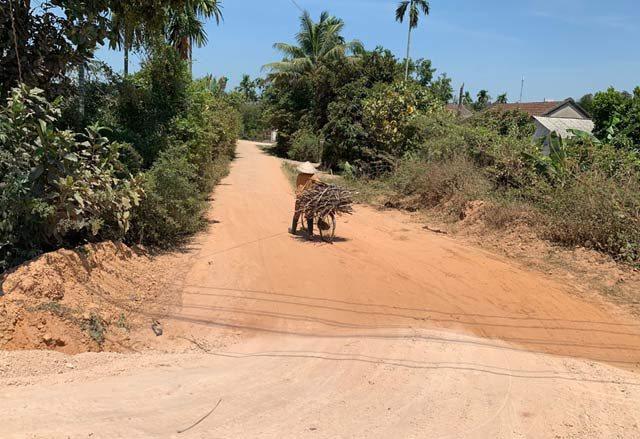 Quảng Ngãi: kinh khủng dự án 0,53km đường vùng nông thôn trị giá trên 2 triệu USD