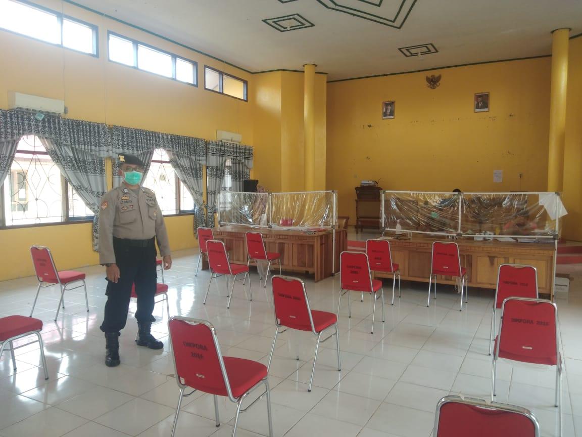Rutin Laksanakan Patroli Di Balai Karantina, Polres Sukamara Amankan Situasi Di BPG