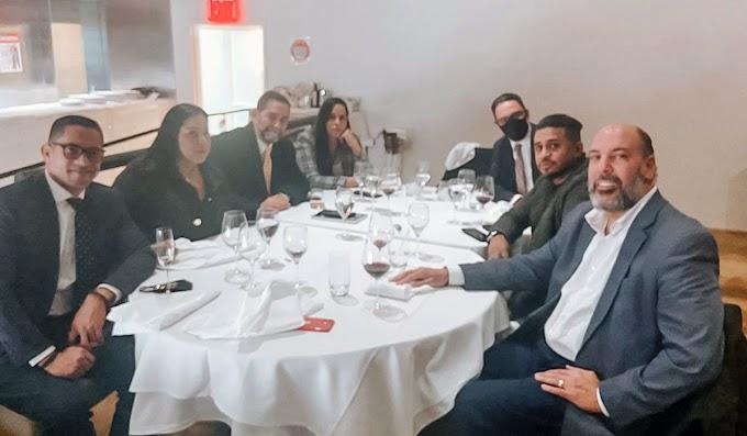 Empresario judío y NLOA  donan  furgones al Gobierno con electrodomésticos, muebles y protección contra COVID a través del cónsul en Nueva York