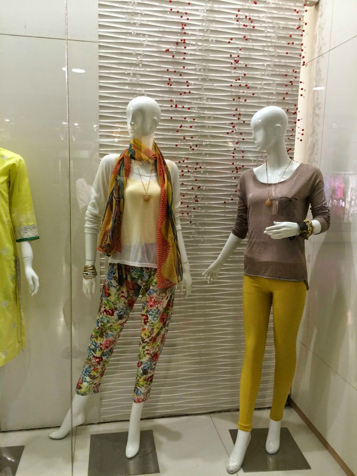 Q&H Ready to wear printed trousers - Pakistani designer wear