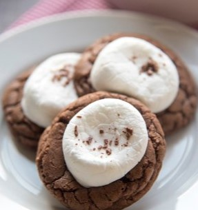 Hot Chocolate Cookies