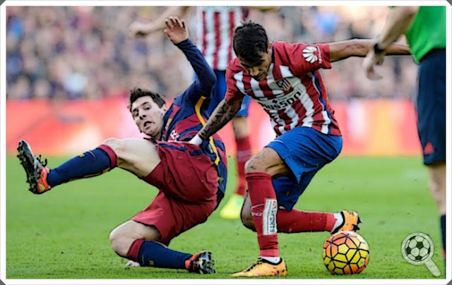 Augusto Fernández Lionel Messi Atlético Barcelonba