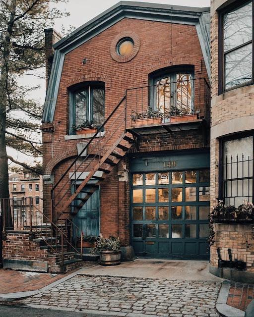 Storybook brick house