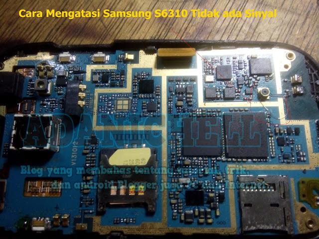 Cara Mengatasi Samsung S6810 Tidak ada Sinyal