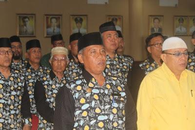 Kakankemenag Tanjungbalai Hadiri Pengukuhan FKUB dan FPK Periode 2018-2023