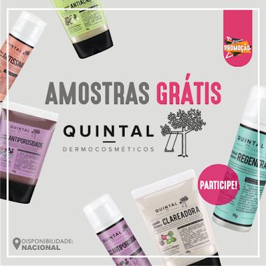 Amostra Grátis - Produtos Quintal Dermocosméticos