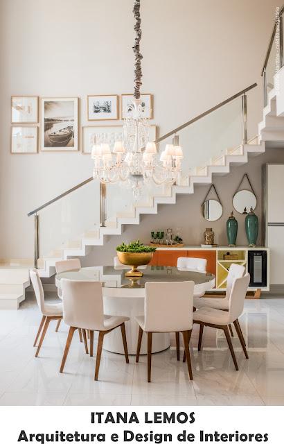 sala-de-jantar-mesa-redonda-decoração