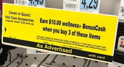 This Week At Rite Aid You Can Earn 10 In Wellness BonusCash When Buy 3 Participating Conair Or Scunci Hair Care Accessories