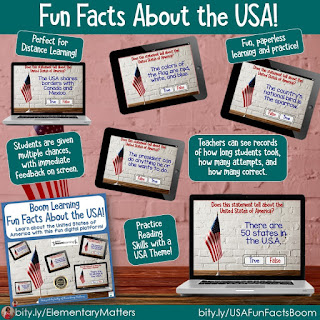 Fun Facts about the USA: Boom Learning