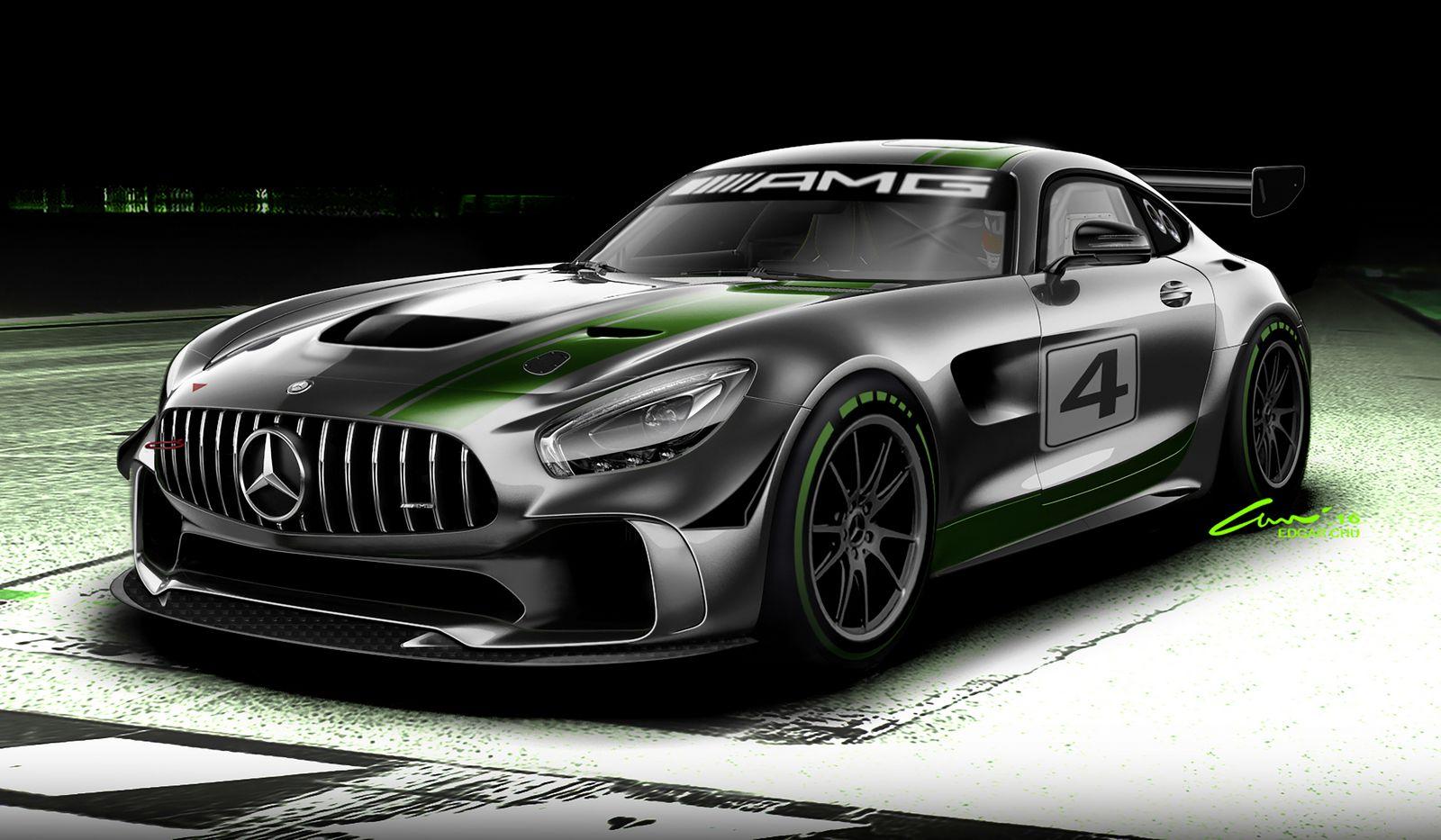 2014 - [Mercedes-AMG] GT [C190] - Page 29 Mercedes%2BAMG%2BGT4%2B1