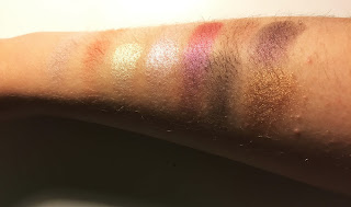 City Color Figtastic Eyeshadow Palette swatches