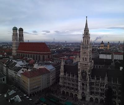 ayuntamiento munich y catedral