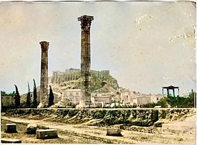 Στύλοι του Ολυμπίου Διός: Πώς γκρεμίστηκαν οι περισσότερες από τις 104 κολώνες που ζύγιζαν 364 τόνους