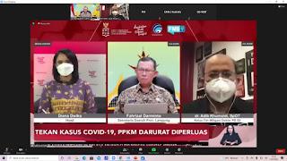 Sekdaprov Lampung Hadiri Acara Dialog Semangat Selasa CNN TV Sebagai Narasumber