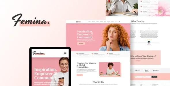 Best Feminine Business Elementor Template Kit