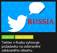 Twitter v Rusku vyhovuje požadavku na odstranění zakázaného obsahu. - AzaNoviny