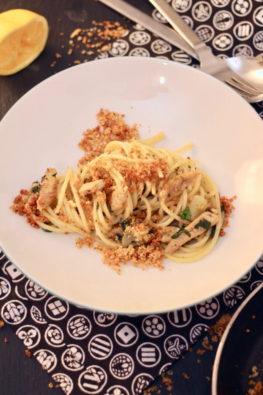 Rezept Spaghetti Aglio e Olio mit Sardellen