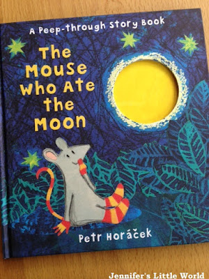 The Mouse who ate the Moon - review and craft