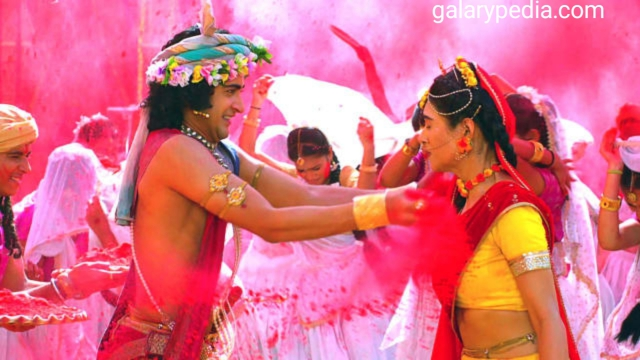 Hd Radha Krishna Holi images
