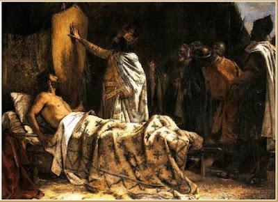 un rey franco mojó los dedos en el culo de Wifredo el Velloso