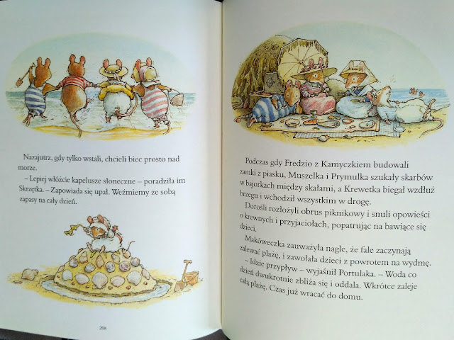 Przykładowe strony z ilustracjami
