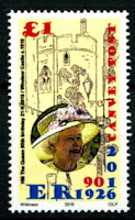 Canvey Local Post QEII 90th birthday Stamp