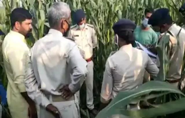 Muzaffarpur|Bihar:रात में घर से अचानक गायब हो गई युवती,सुबह खेत में पड़ी मिली लाश,रेप के बाद मर्डर की आशंका