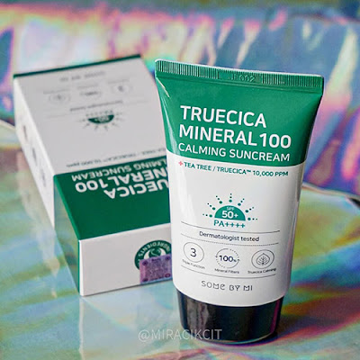 Some By Mi Truecica Mineral 100 Calming Suncream 50PA review