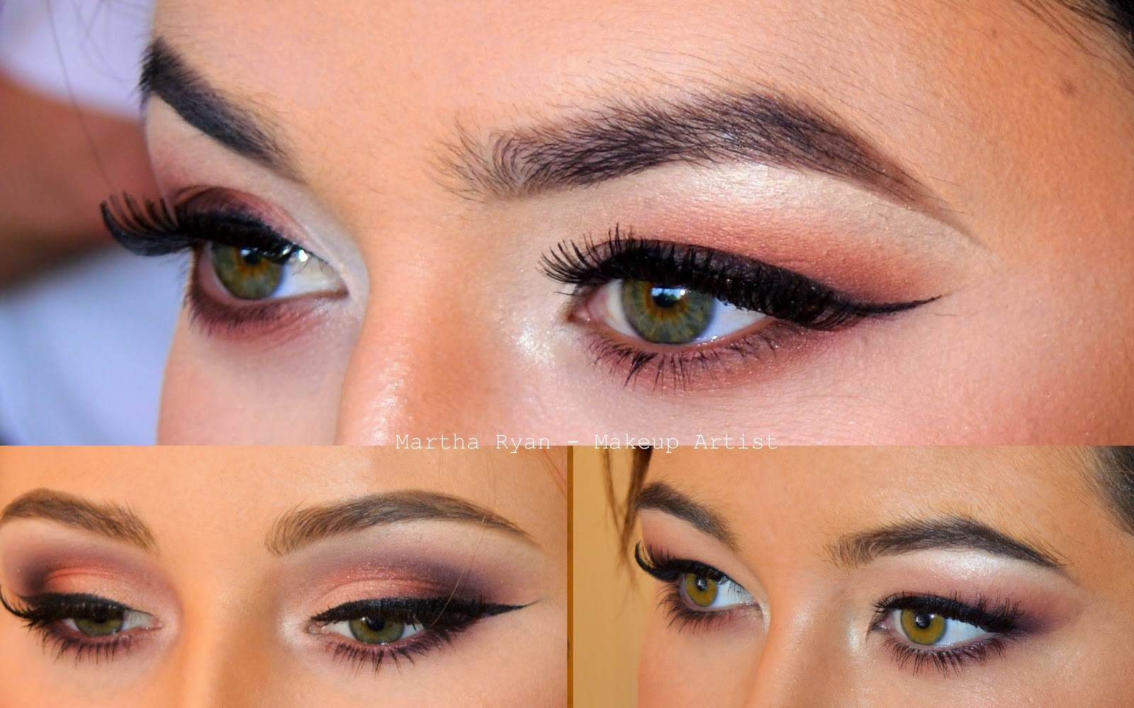 makeup by martha: green eyed girls: best colour combos! ♥