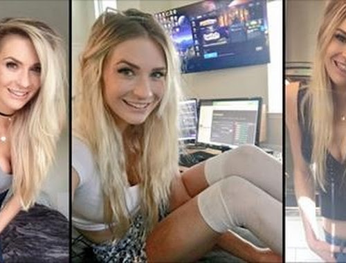 Girl Flashes On Live Stream