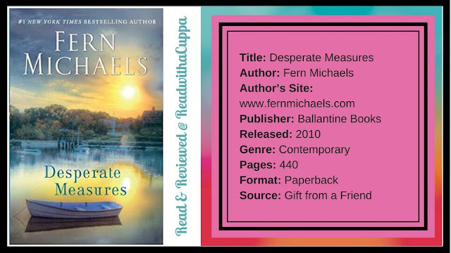 How to find your fairy tale. Book Review | Desparate Measures by Fern Michaels. www.readwithacuppa.com