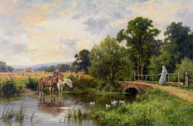 Henry Parker Paintings Victorian