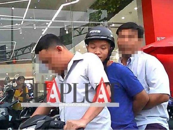 Làm rõ hành vi đưa người chạy xe vi phạm về phường rồi mặc cả đòi tiền của thiếu úy công an và bảo vệ dân phố