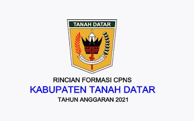 Formasi CPNS Kabupaten Tanah Datar Tahun 2021