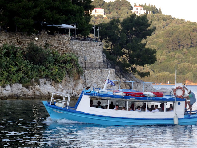 Ferry in Skiathos