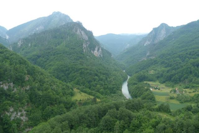 Montenegro, blik in Tarakloof