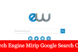 Entriweb search engine mirip google