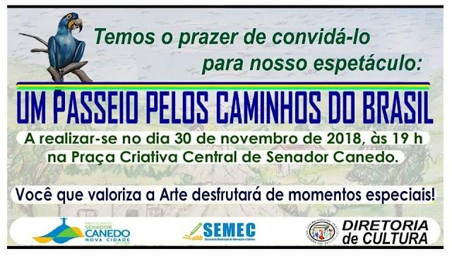 Senador Canedo: CONVITE