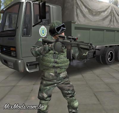 gta san andreas gta brasil mod gta brasileiro exército imbel