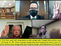 LUAR BIASA, Mahasiswa STIH IBLAM Menantang Prof.Dr. Otto Hasibuan SH Melakukan Podcast Perkara APKOMINDO