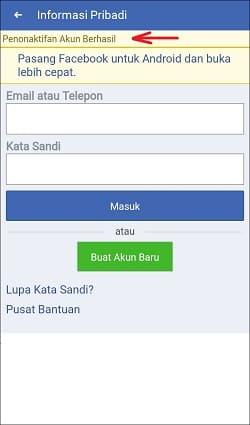 Cara Memblokir Akun Facebook Sendiri untuk Sementara di Android