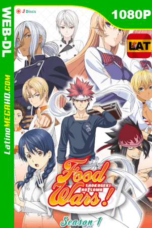 Food Wars: Shokugeki no Soma (Serie de TV) Temporada 1 (2015) Latino HD WEB-DL 1080P ()